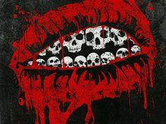 Skull estampa