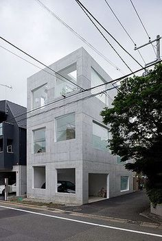 Built by Sou Fujimoto in Tokyo, Japan with date 2008. Images by Iwan Baan. A dwelling for a family of three located in a residential district in Tokyo. To live in a multi-storey dwelling in a ...
