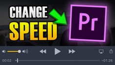 HOW TO CHANGE VIDEO SPEED IN PREMIER PRO Tech, Change, Technology