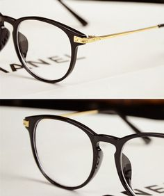 bc2c72cfe69a Vintage Men Women Eyeglass Frame Glasses Retro Spectacles Clear Lens Eyewear  Rx