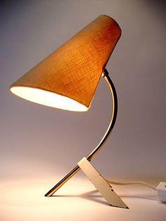 Original 1950s Table / Desk Lamp Eames Panton Modernist Mid Century 60s 70s Era