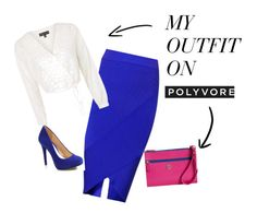 Designer Clothes, Shoes & Bags for Women My Outfit, Classy, Shoe Bag, Business, Polyvore, Blue, Stuff To Buy, Outfits, Shopping