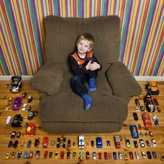Kids From Around the World Display All Their Toys