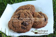 GF Mocha Chocolate Chip Cookies | The Unrefined Kitchen | Paleo & Primal Recipes