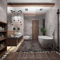 """""""Browse photos of Small Bathroom Tile Design. Find suggestions and inspiration for Small Bathroom Tile Design to enhance your house. Dream Bathrooms, Amazing Bathrooms, Spa Bathrooms, Master Bathrooms, Small Bathroom, Master Baths, Bathroom Modern, Luxury Bathrooms, Natural Bathroom"""