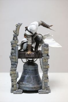 Assassin`s Creed Figuren - Hadesflamme - Merchandise - Onlineshop für alles was das (Fan) Herz begehrt! Assassin´s Creed Statue Altair The Legendary Assassin 28 cm