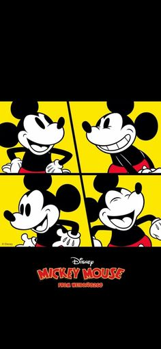 Arte Do Mickey Mouse, Mickey Mouse Drawings, Mickey Mouse Wallpaper, Mickey Mouse And Friends, Disney Mickey Mouse, Lines Wallpaper, Iphone Wallpaper, Disney Magic, Walt Disney