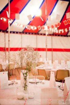 #wedding #red #circus themed wedding