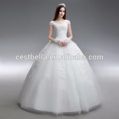 2016 high-grade tulle lace formal maxi wedding dress Bridal Gowns