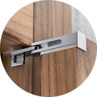 No doubt you may have read about a new style of hardware called barn door hardware, also known as flat track hardware. Interior Barn Door Hardware, Interior Sliding Barn Doors, Sliding Barn Door Hardware, Furniture Hardware, Sliding Doors, Hanging Barn Doors, Joinery Details, Interior Design Courses, Shutter Doors