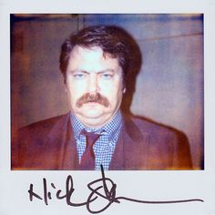 Nick Offerman a.k.a Ron Swanson