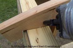 How To Build A Shed Roof | icreatables. #buildingashed #buildashed