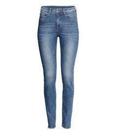 Product Detail | H&M US skinny high in denim blue, $29.95