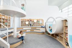 Design studio Frost*collective have worked together with Joey Ho and Patrick Leung from PAL Design Architects to create NUBO, a fun and exciting children's play centre in Sydney, Australia.