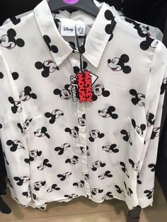 70f0d53a27044 DISNEY LADIES MICKEY MOUSE Shirt Blouse Top Primark
