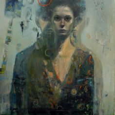Barbara Porczyńska, oil on canvas 2013