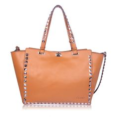 Apricot Women's Rivets Motorcycle Leather bag bats style design OUOVO LL402914