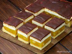 Ciasto Krysi Brownie Cookies, Cake Cookies, Elegant Desserts, Tasty, Yummy Food, Polish Recipes, Homemade Cakes, Cake Recipes, Deserts