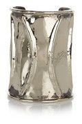ANNDRA NEED Tube Streak silver-tone cuff