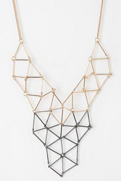 Geometric. #necklace