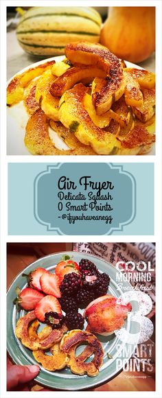 14 Delicious Air Fryer Recipes with Weight Watchers Points! Ww Recipes, Healthy Recipes, Waffle Recipes, Healthy Meals, Healthy Food, Weight Watchers Snacks, Vegetable Side Dishes, Vegetable Recipes, Gourmet