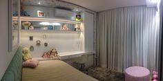 Casa CC, Sun Lake: quarto de menina inspirado na história Frozzen!