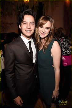 Cole Sprouse and Danielle Panabaker at The CW Network's Upfront Party 2016