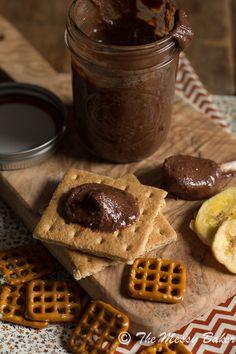 Homemade Dark Chocolate Peanut Butter | www.themessybakerblog.com-8325