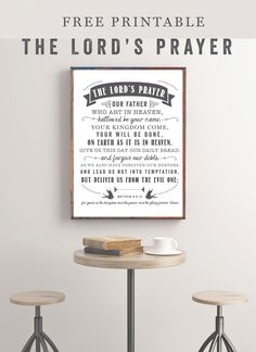 The Lord's Prayer | Free Printable - Sincerely, Sara D.