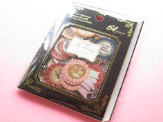 Classic Sticker Flakes Sack Antique Booklatte Q-LiA *Rosette (81048)