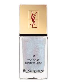 YSL Holiday La Lacquer Top Coat No. 33 - Neiman Marcus