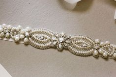 Bridal belt - Valeria v2 (11.5 inches) from MillieIcaro