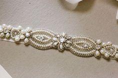 Bridal belt - Valeria v2 (11.5 inches) from MillieIcaro