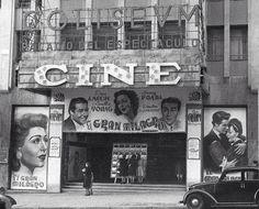 Cine Coliseum. Gran Via. Década de los 50.