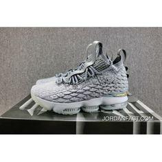fac8a04f694 380 Nike Lebron 15 XV KSA Mowabb LBJ ACG 897649 005 15 Grey Gold Men  Authentic