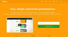 Swipe is the easiest way to create beautiful presentations on the web. Use any device to present, and share to anyone on any device live. And it's completely free!