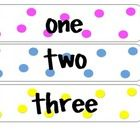 FREE! Learning how to write number words is very important in first grade! I use these during calendar time. I just post up a different number everyday, ...