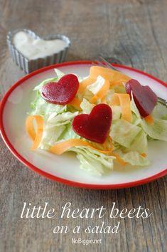 heart beets salad No