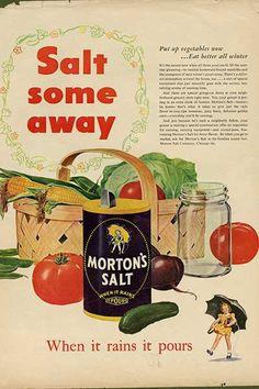 The Morton Salt Girl - 1943