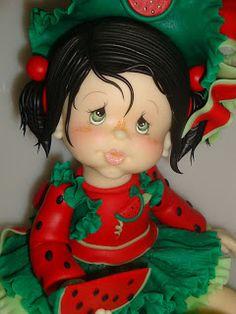 El artífice de estas maravillosas muñecas es  Diego Dutra