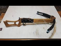 DIY PVC compound Crossbow Part 1/3 - YouTube