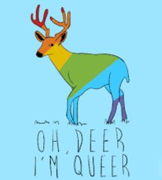 I didn't know if I should put this in my LGBTQ board or my puns board. So I put it in both.