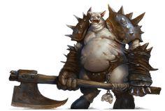 Abaddon Gigas by yigitkoroglu Fantasy Monster, Monster Art, Creature Feature, Creature Design, Fantasy Races, Fantasy Art, Fantasy Creatures, Mythical Creatures, Skyrim