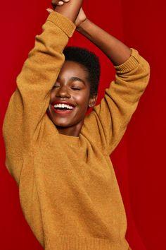 Uniqlo Holiday 2018 on Behance Beauty Photography, Creative Photography, Portrait Photography, Fashion Photography, Clothing Photography, Foto Fashion, Fashion Beauty, Black Is Beautiful, Beautiful People