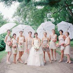 Rainy Wedding Photos   Brides.com