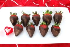 Coconut Oil Chocolate Covered Strawberries Recipe photo