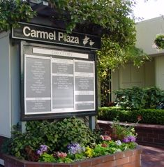 Browse the shops of Carmel Plaza. Located at the corner of Ocean Ave and Mission St in Carmel, CA Shopping Center, Ocean, Shopping Mall, The Ocean, Sea