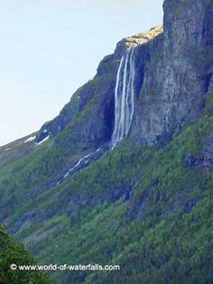 Hydnefossen Hemsedal, Buskerud, Norway