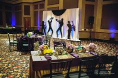 Cool New Orleans music theme for an event at the Ruthe Jackson Center in Grand Prairie. A few extra touches makes the event memorable. Don't forget, with good photography, the memories are there for the rest of your life. photo by JimRode.com