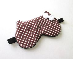 Eye mask Sleep mask Travel sleep mask Kitty eye mask by BowFantasy